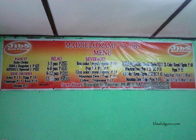 Pancit Batil Patong Metro Manila Blog