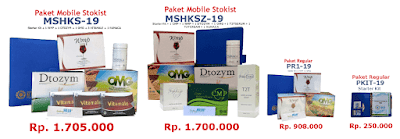Paket Pendaftaran Distributor member MS Regular HWI 2019