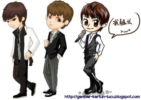 Unduh 510  Gambar Animasi Kartun Korea Cowok Keren  Terbaik
