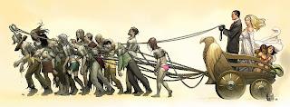Empire of the Dead (disegno di Frank Cho)