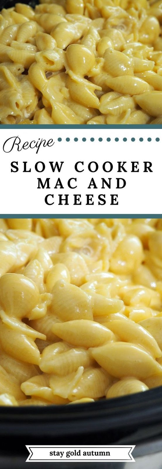 Slow Cooker Mac And Cheese #slowcooker #mac #cheese #macaroni #easyrecipes