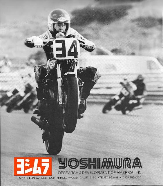 Wes Cooley Yoshimura Suzuki GS1000