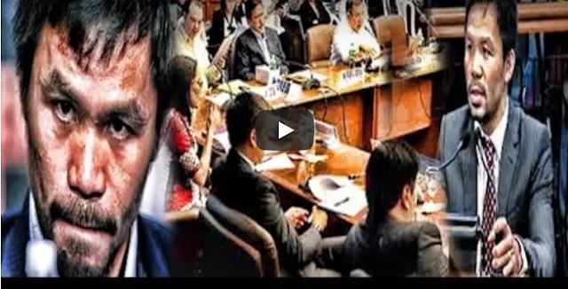 Biglang Natahimik Ang Senado Sa Buwelta Ni Pacquiao Alamin Kung Bakit