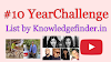 10 Year challenge Kya hai, Dekhiye is List me koun koun hai - Knowledgefinder.in