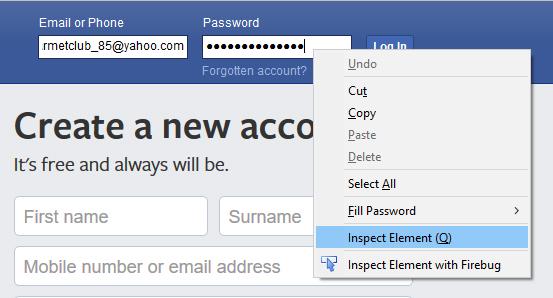 Cara Nak Dapatkan Password Facebook