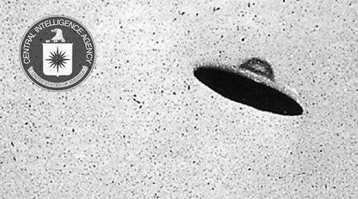 La CIA twittea la fotografía de un platillo volador