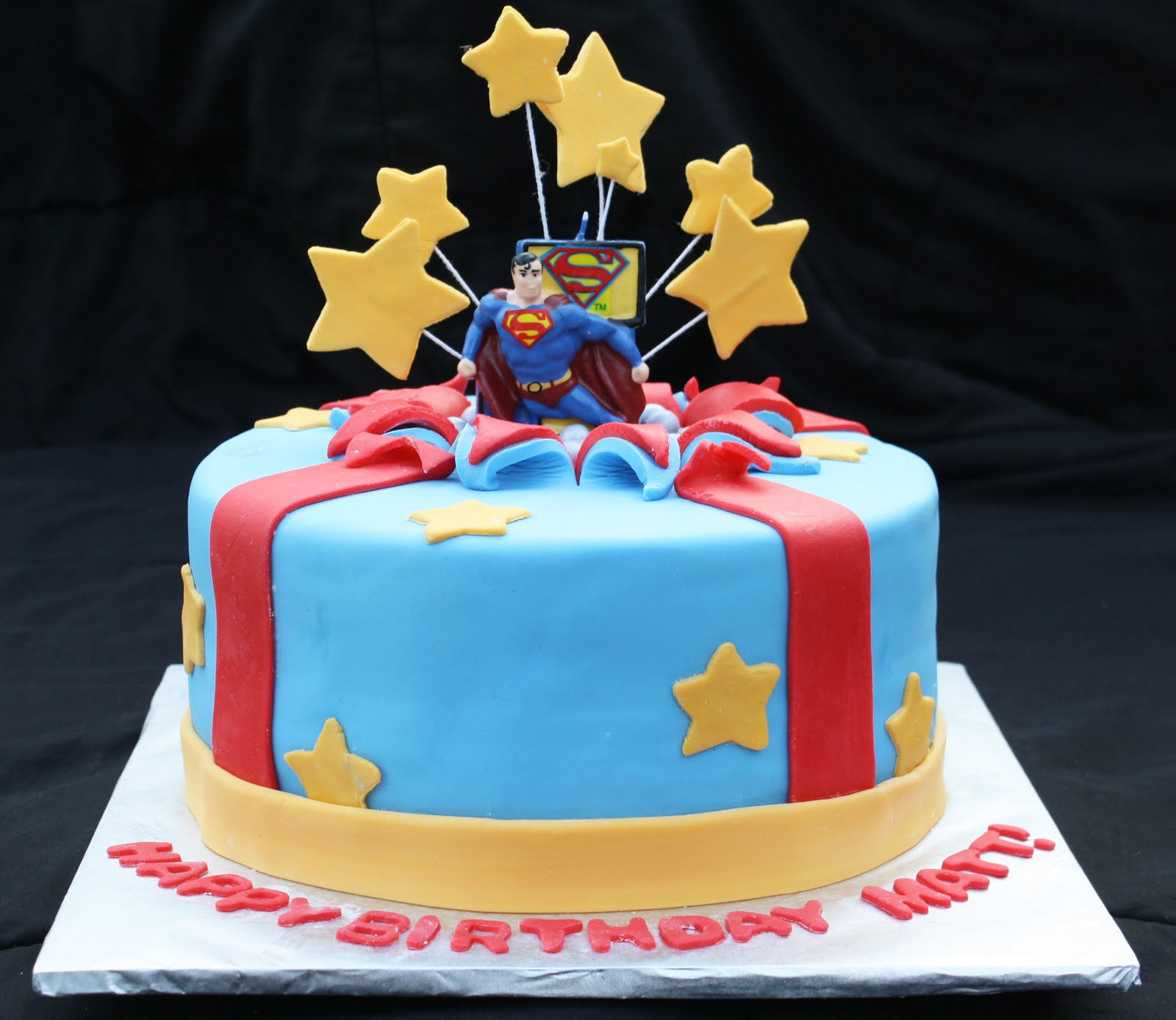 Stupendous Superman Bursting Out Of The Birthday Cake Rose Bakes Funny Birthday Cards Online Bapapcheapnameinfo