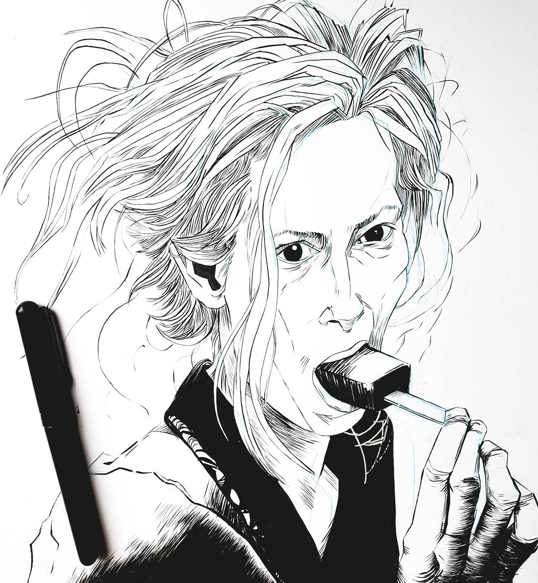 Tilda Swinton Portrait Illustration