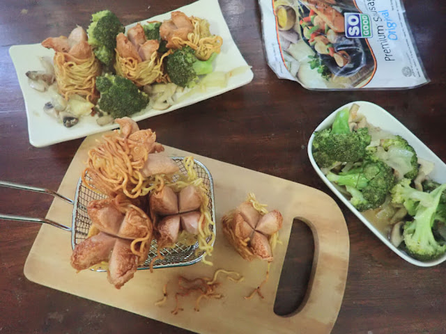 Menu Buka Puasa So Good, Resep Sosis Gulung Mie