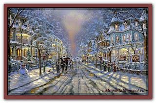 """Cape May Christmas"" Tilton Crafts"