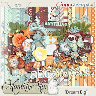 Dream Big by GingerScraps designers