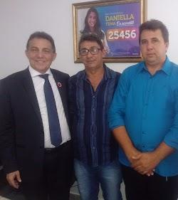 Maurício Seabra tem o nome fortalecido para sucessão do prefeito Tema, e conta com o apoio das maiores lideranças políticas sertanejas.