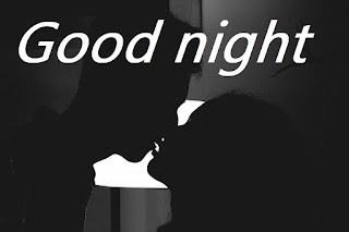 romantic good night kiss image
