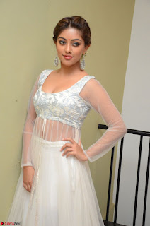 Anu Emmanuel in a Transparent White Choli Cream Ghagra Stunning Pics 084.JPG