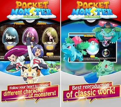 Tampilan Game Pocket Monster - Remake For Android