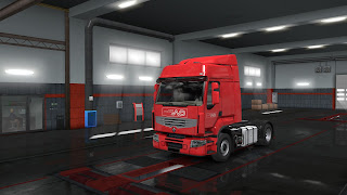 european logistics companies paint jobs pack screenshots 8, norbert dentressangle