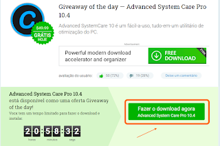 Free Advacend System Care - Giveaway 2