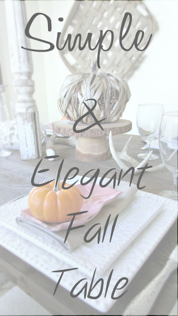 Fall Thanksgiving Tabletop ideas