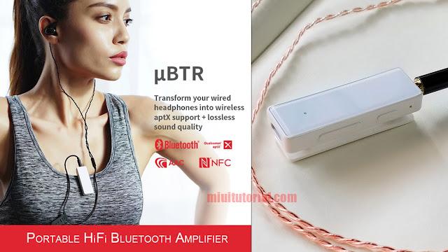 FiiO UBTR Si Bluetooth Music Receiver yang Kayak akan Fitur - APTX, NFC, USB Type-C