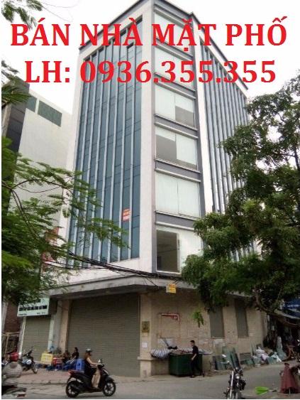 Bán nhà mặt phố Nguyễn Khang