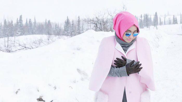 Anniesa Devitasari Hasibuan di Alaska
