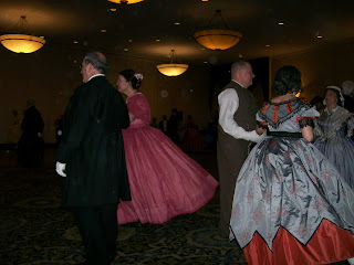Dancers at the 2016 Civilian Symposium Ball.