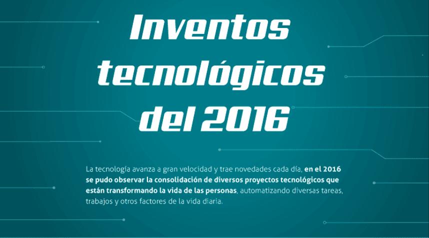 Creaciones tecnológicas del 2016