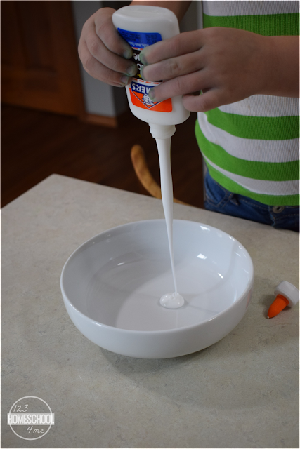 slime made with glue