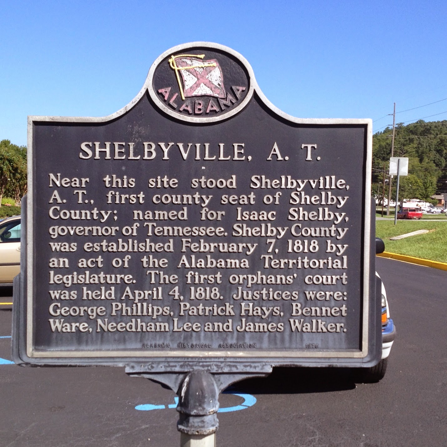 235 Hwy 8 Pelham Al: Alabama Yesterdays: Updating Pelham's Historical Marker