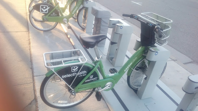 Lucky Bike 20 at Sheraton Salt Lake City GreenBike station