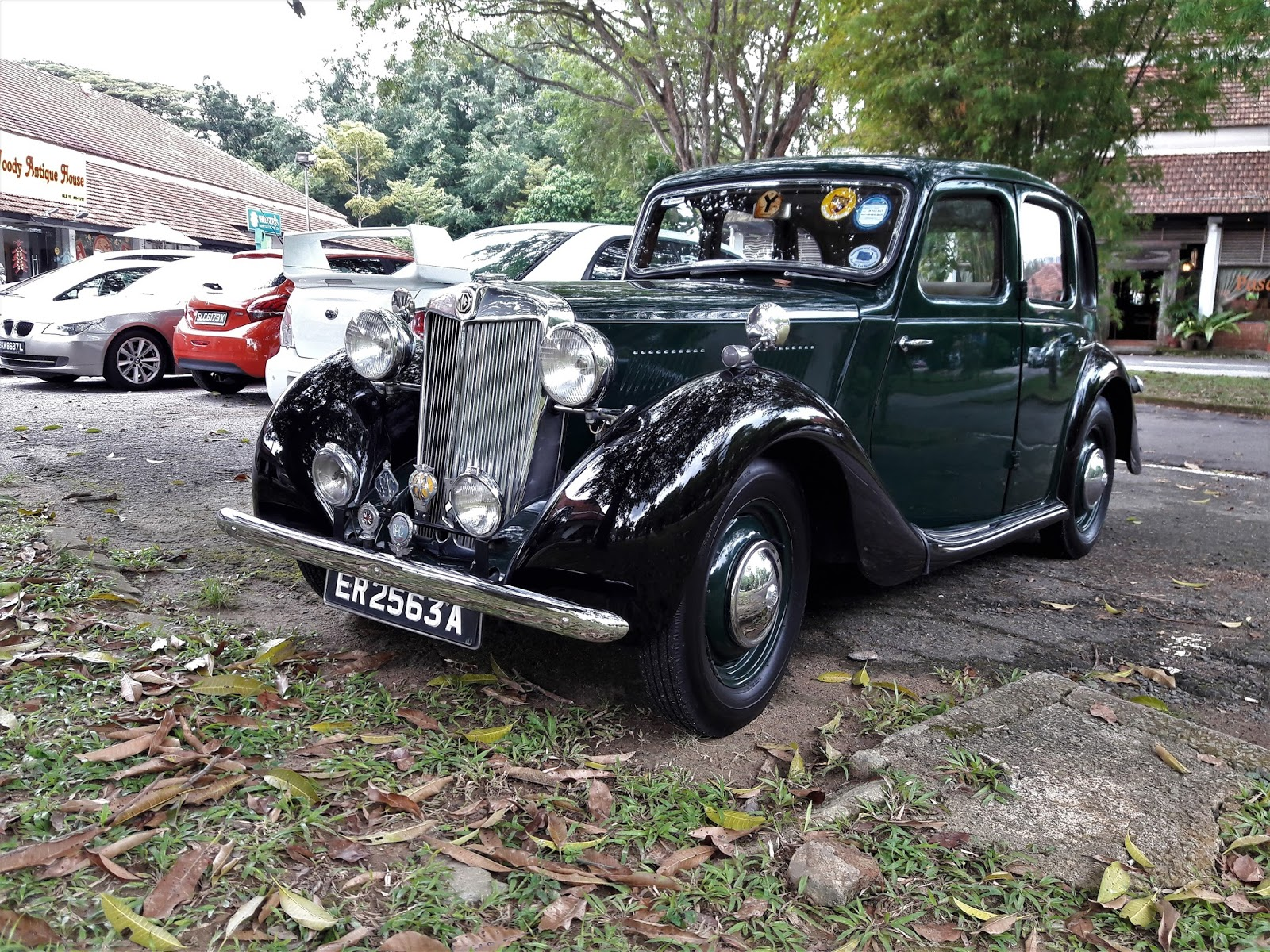 Singapore Vintage and Classic Cars: More than an old car #23: MG YA
