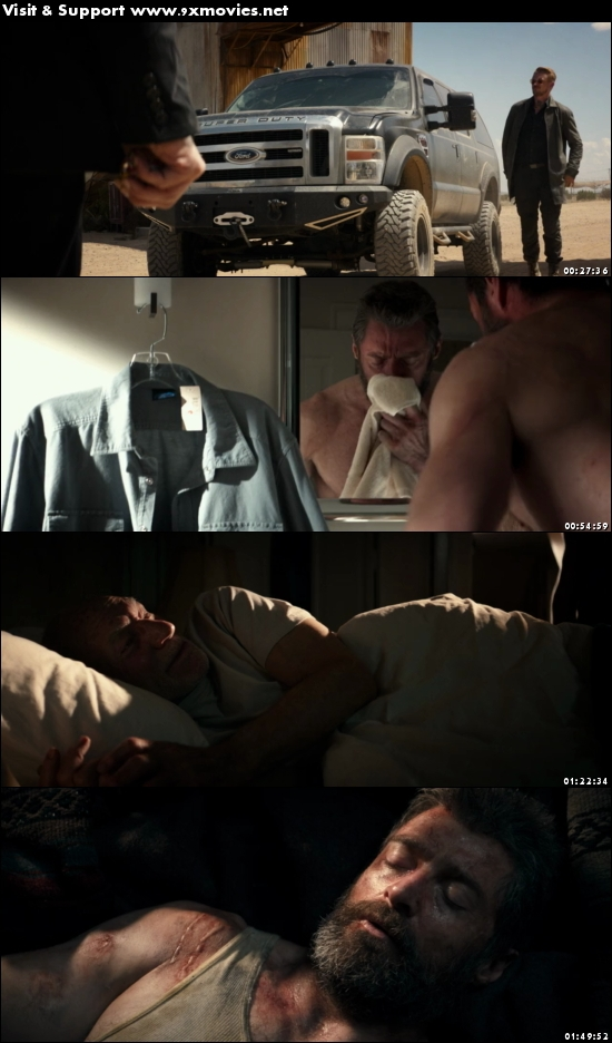 Logan 2017 Dual Audio Hindi 720p BluRay