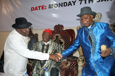 PhotoNews: Conference Of Ijaw Traditional Rulers, Elders