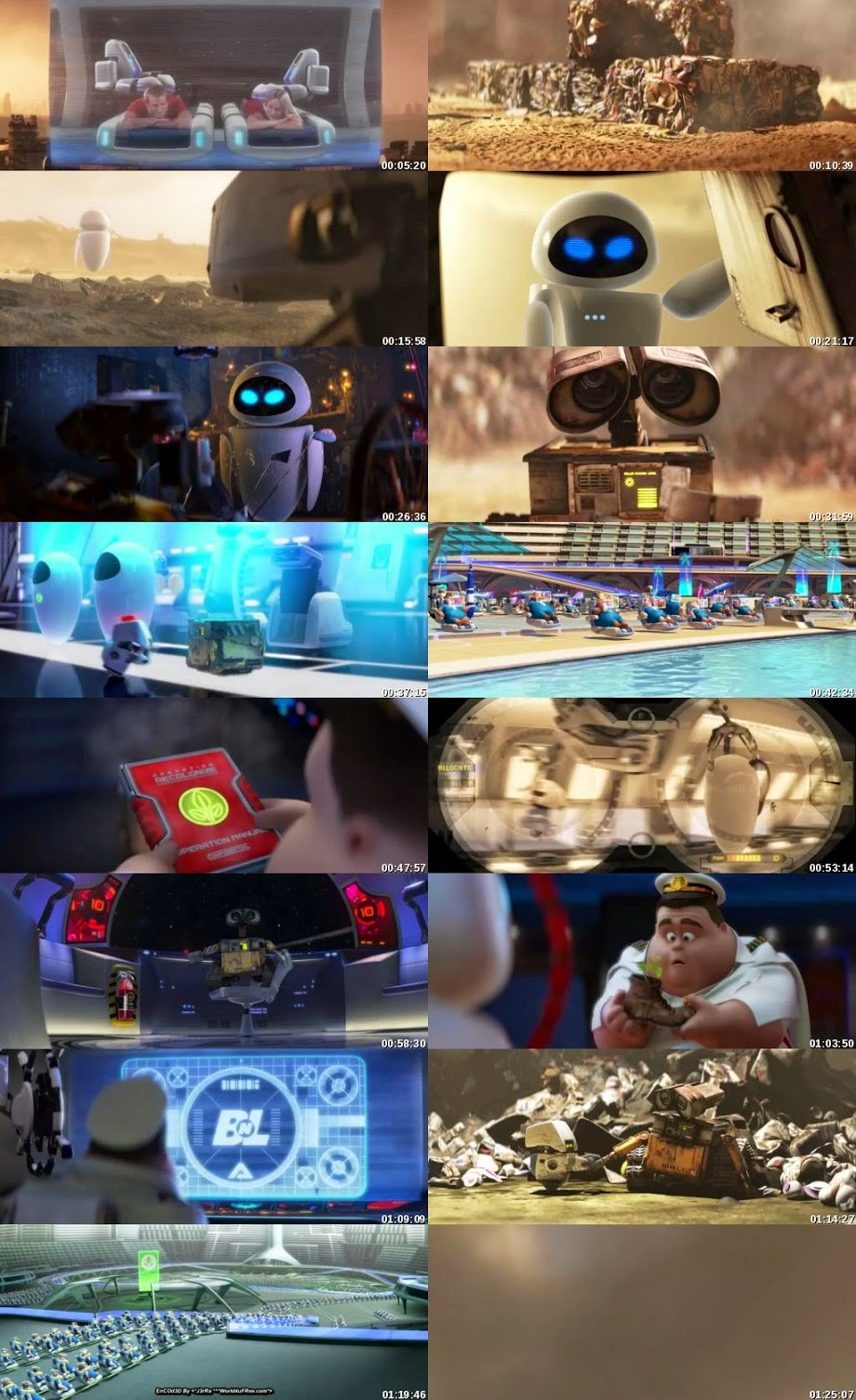 WALL-E 2008 Dual Audio 720p HEVC 480MB BRRip ESubs