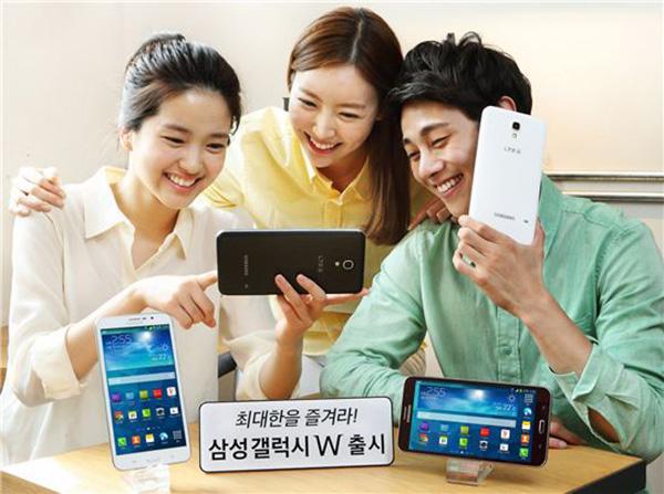 Samsung Galaxy W, Android 7 inci Rp5,7 Juta-an
