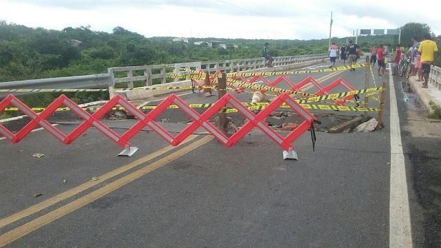 Ponte do Retiro será interditada para conclusão de obra.