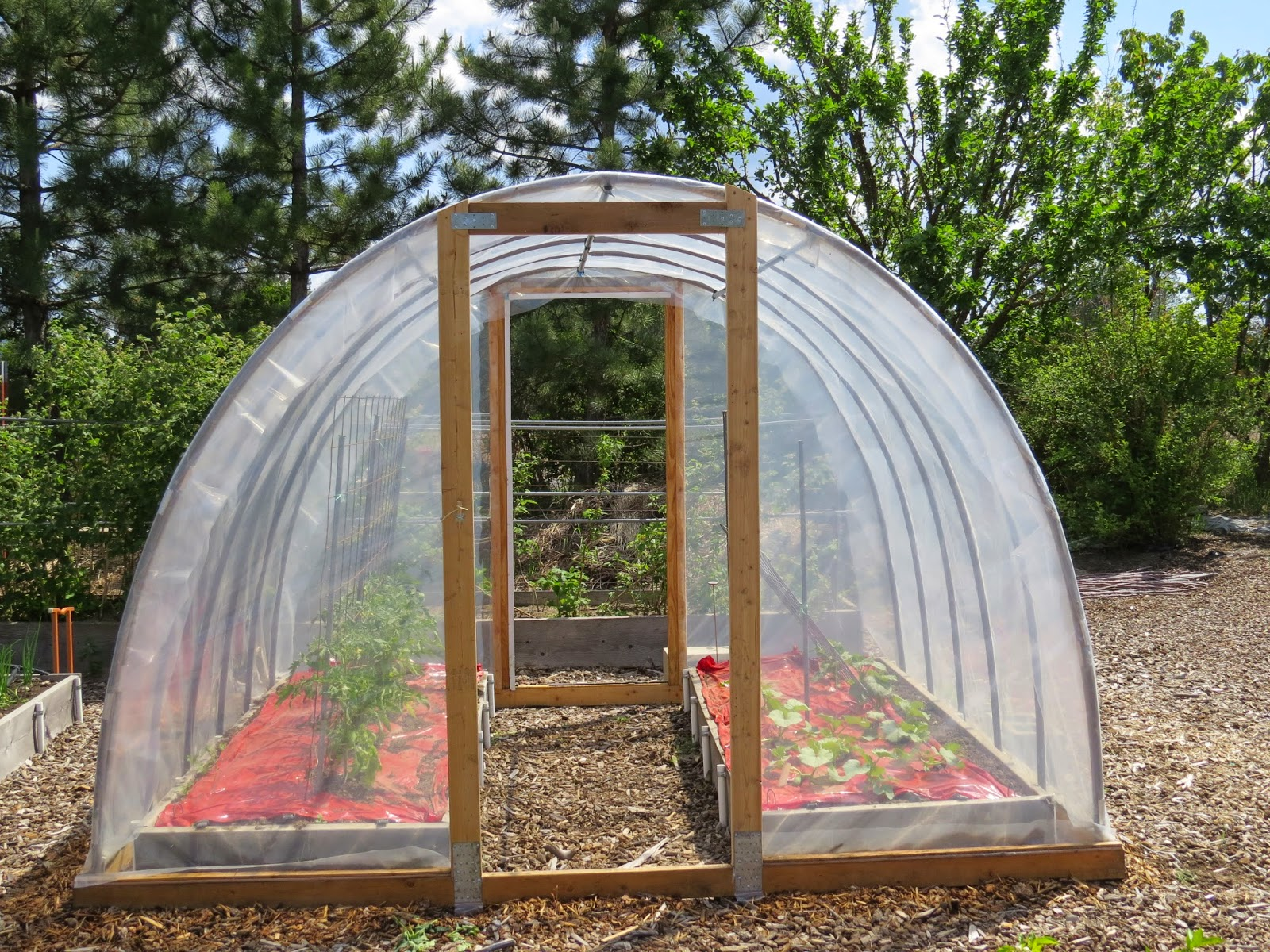 Hoop House Greenhouse Gardens