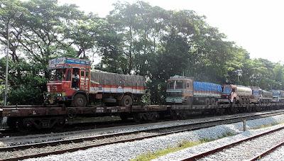 RORO an innovative service by Konkan Railway's
