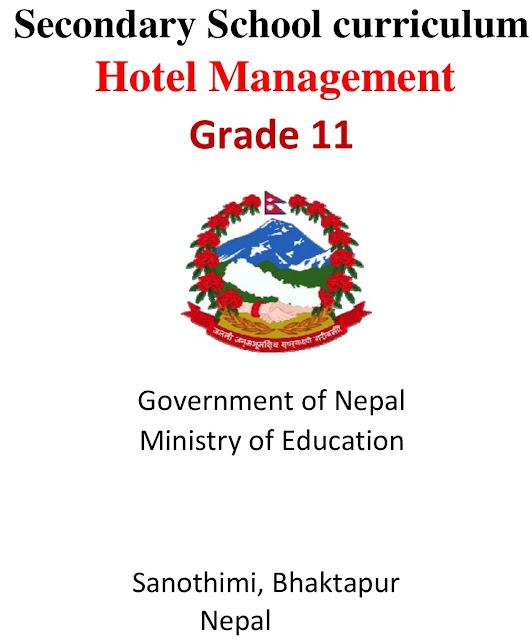 Grade XI NEB Syllabus - Hotel Management