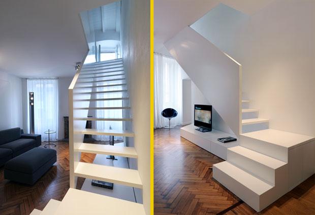 Prospettivecasa studio novarese srl vivere su due livelli for Casa a due livelli