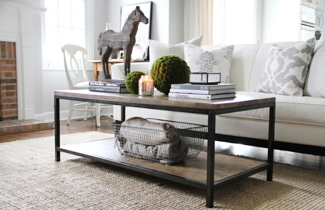 How to style up a coffee table