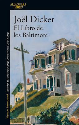 El libro de los Baltimore - Joël Dicker (2016)