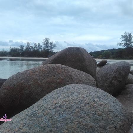 Menelusuri Pantai di Pulau Bintan