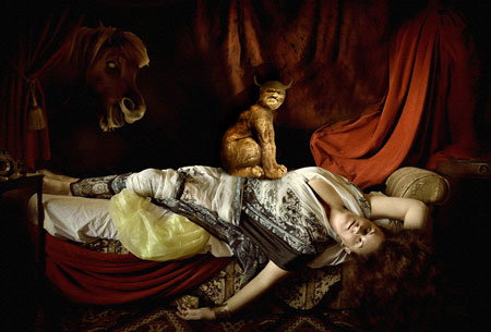 Lukisan Hantu Pembawa Kutuk Kematian