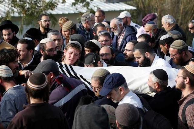 Israel anuncia morte de  palestino  assassino do rabino