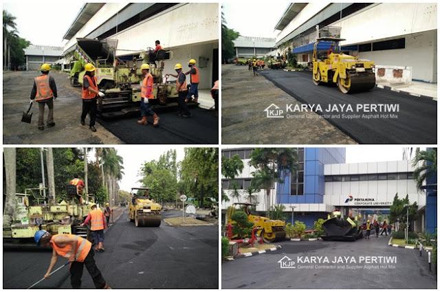 Jasa Pengaspalan Hotmix Jabodetabek Jakarta, Bogor, Depok, Tangerang, Bekasi, Purwakarta, Cirebon, Bandung dan wilayah Jawa Barat sekitarnya