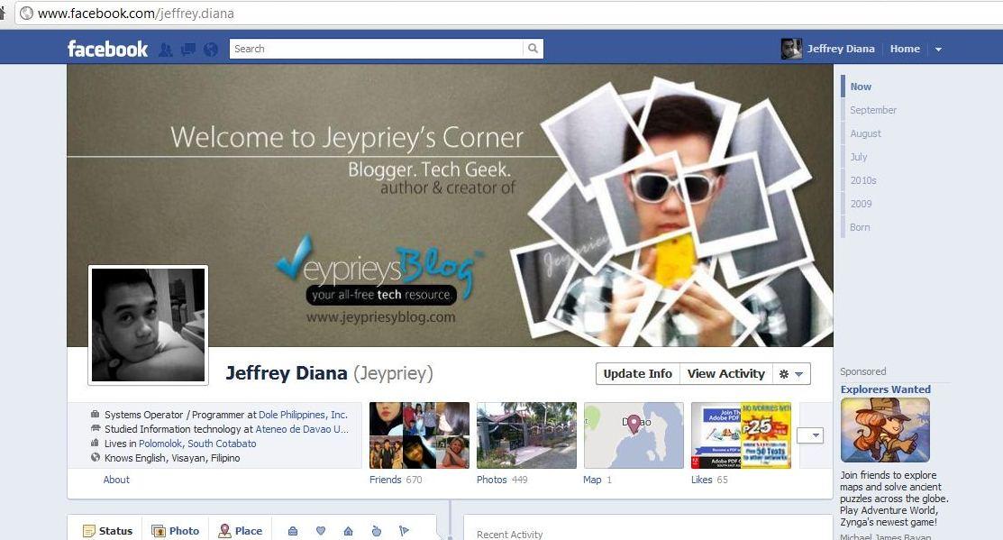 Sample Facebook Timeline 100 Facebook Banner Templates Free Sample - sample facebook timeline