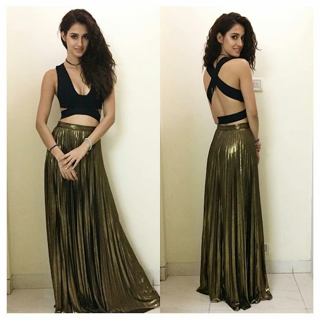 Disha Patani At Manish Malhotra's 50th Birthday Party