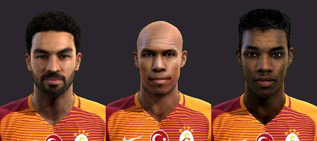 PES 2013 Galatasaray Minifacepack by Facemaker EmreKaya