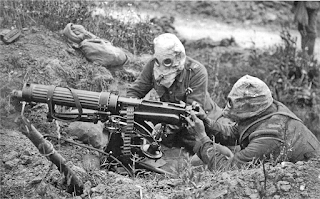 Machine guns were the primary force that decided the bloody and frustrating course of World War I